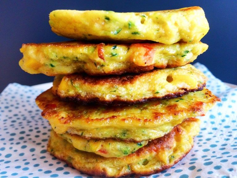 grøntsagspandekager til baby. Sund, lækker og glutenfri.