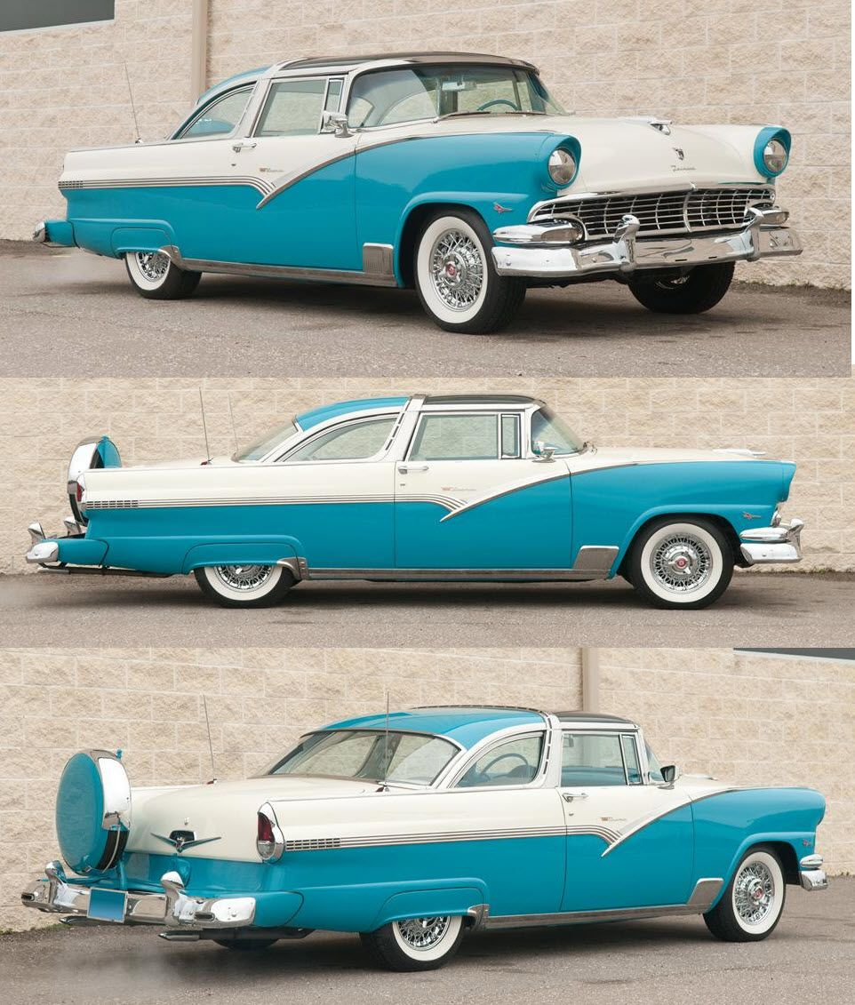 1955 ford fairlane crown victoria blog cars on line - 1957 Crown Victoria Skyliner Note The Transparent Acrylic Roof This Lasted Only Two Years