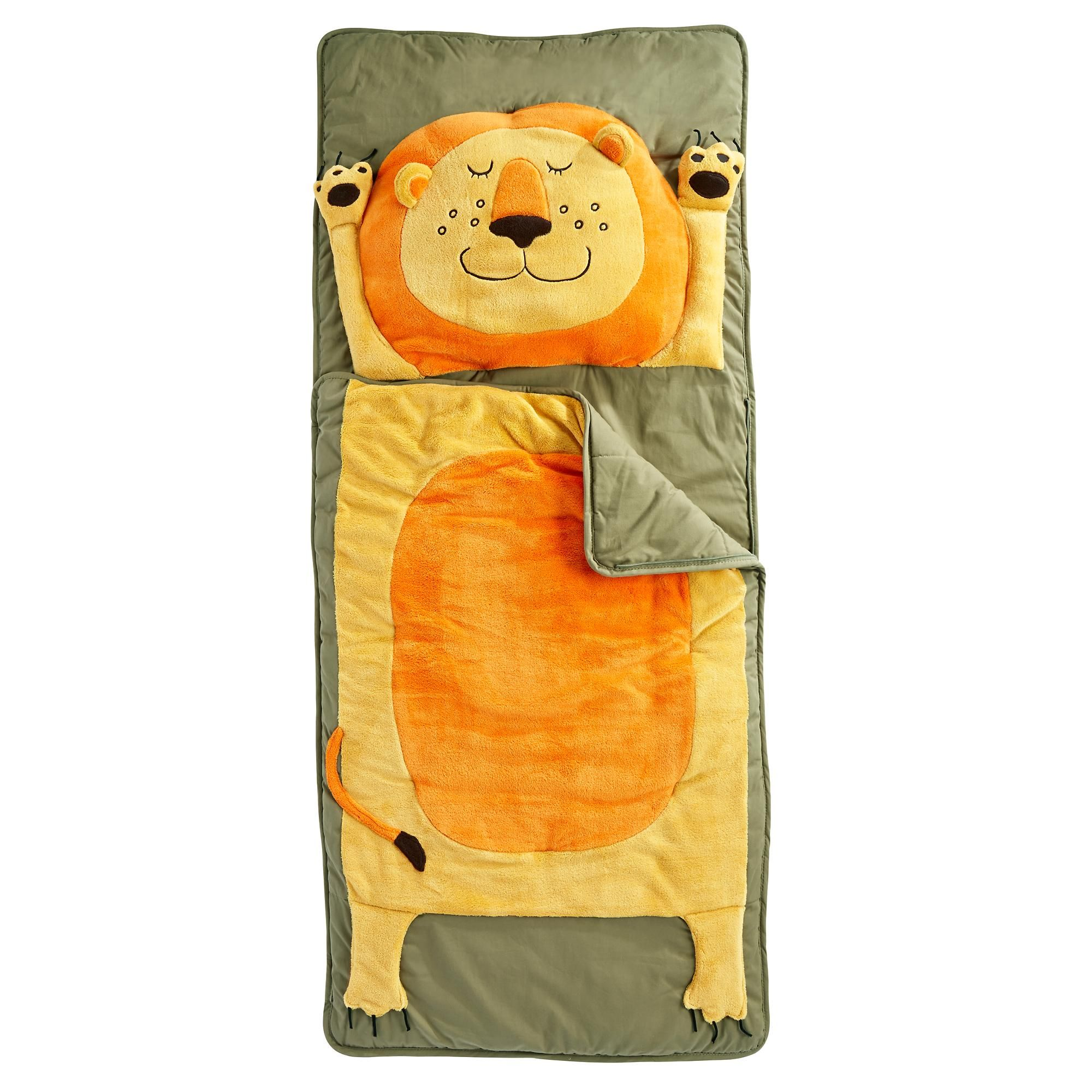 The Land Of Nod How Do You Zoo Sleeping Bag Lion