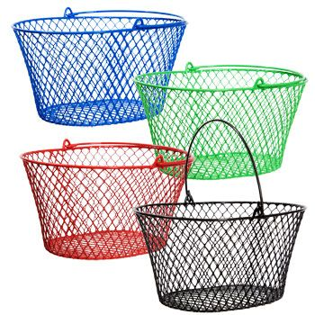 Party Dinner Plates Wire Baskets Stuffed Animal Storage Basket