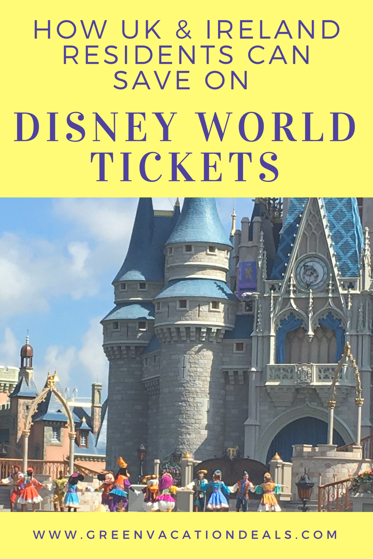 How Uk Ireland Residents Can Save On Disney World Tickets Disney World Tickets Walt Disney World Tickets Walt Disney World Vacations