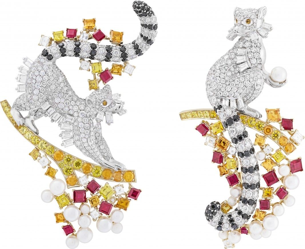 VCA. #VanCleef&Arpels #VCA #Noah'sArk #ArchedeNoé #Brooch #Broche #Animals #Animaux #HighJewellery #FineJewelry