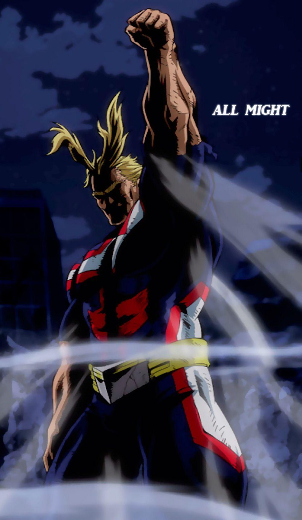 All Might   Wallpaper   Personajes de anime, Personajes de ...