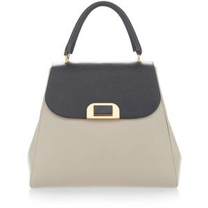 Marni Dark Sea Green And Sasso Handbag