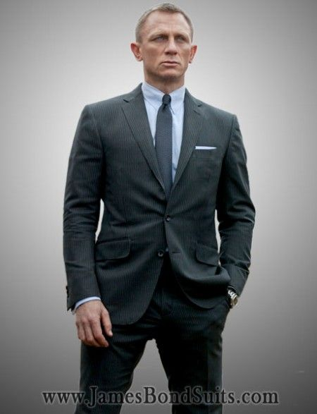 DanielCraig Skyfall Charcoal Suit is ON SALE for this #Christmas ...