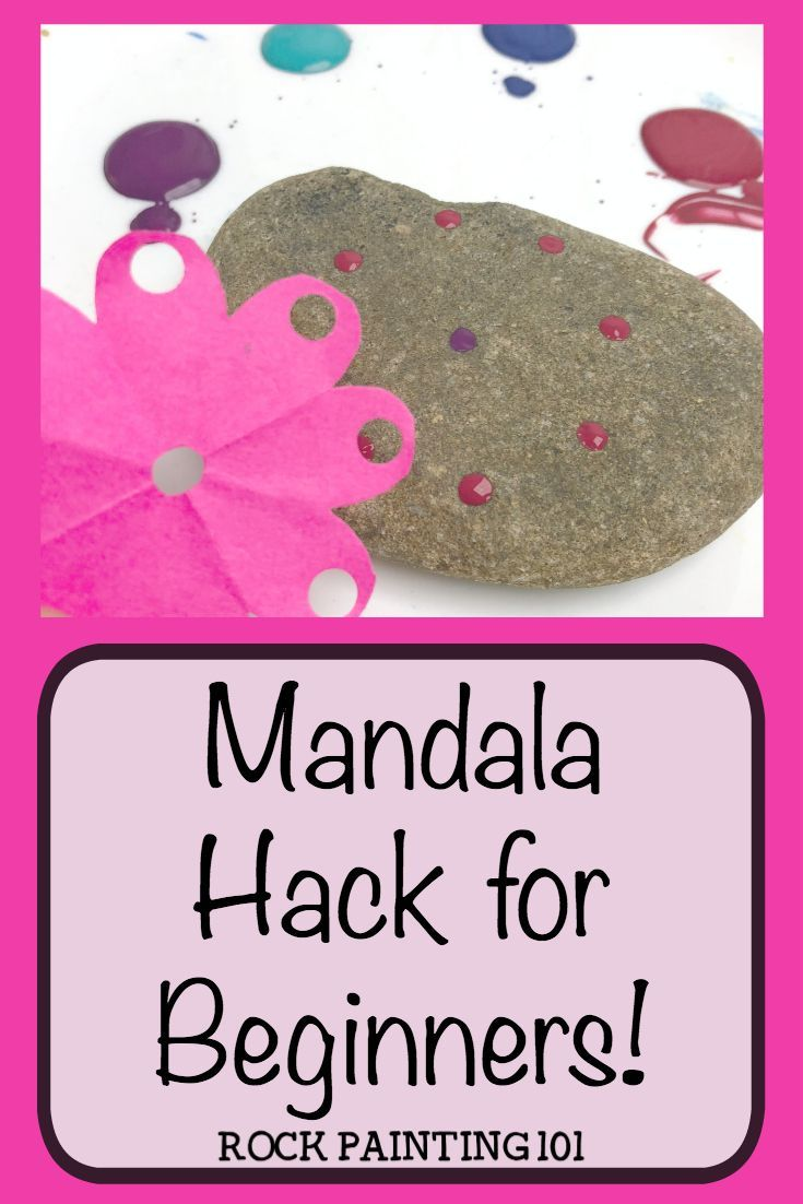 how to make perfect mandalas with a simple hack how to make perfect mandalas with a simple hack anemone anemone Mandala Mandala rock painting This hack is perfect for nbsp  hellip   #Hack #mandalas #Perfect #rock painting for beginners #Simple