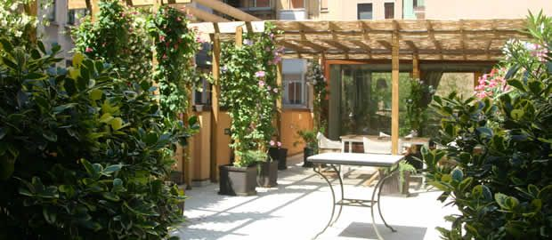 Realizzazione terrazzi e giardini pensili | terrazzo | Pinterest
