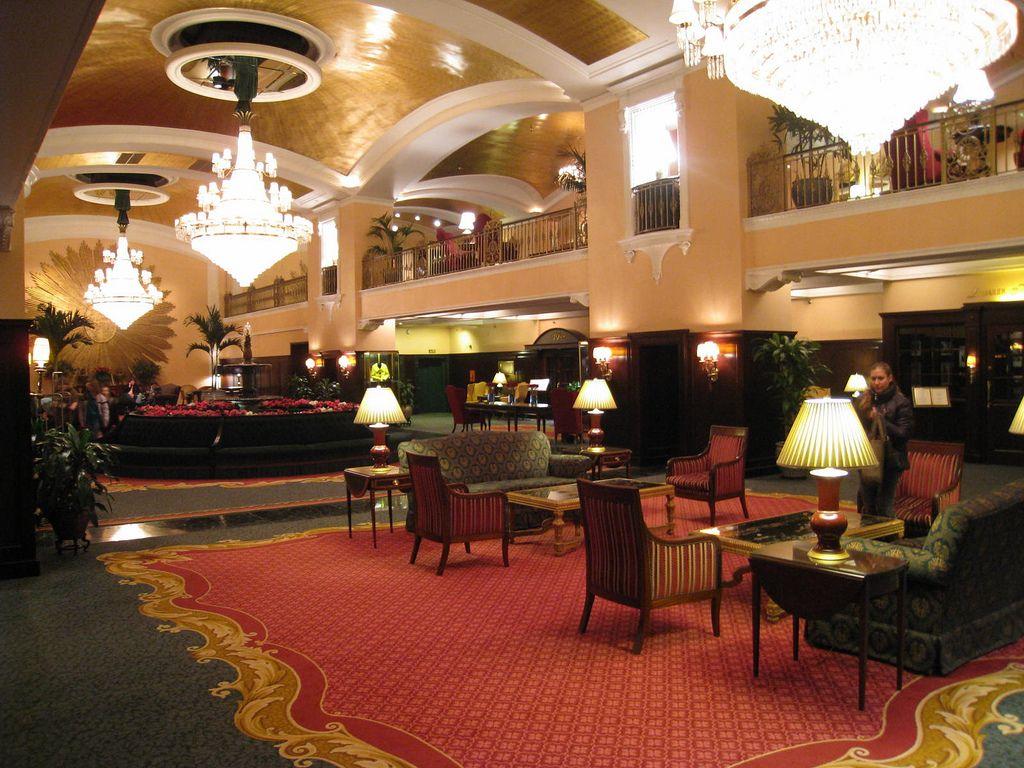 Amway Grand Plaza Hotel lobby, Grand Rapids, MI Grand