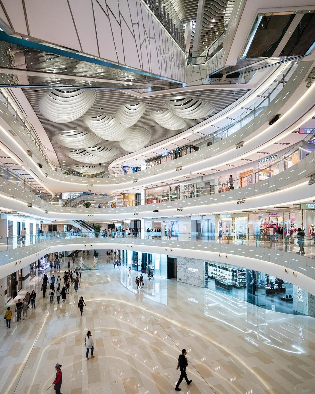 Iapm mall ceiling by #wonderwall  #archdaily by bshigeta
