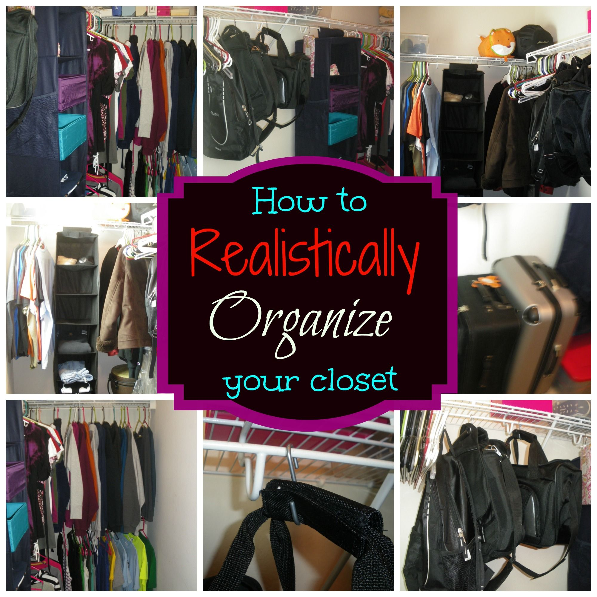 Taming The Master Closet (part 2)   So Domestically Challenged DIY  Organizing A Walk In Closet On A Budget!