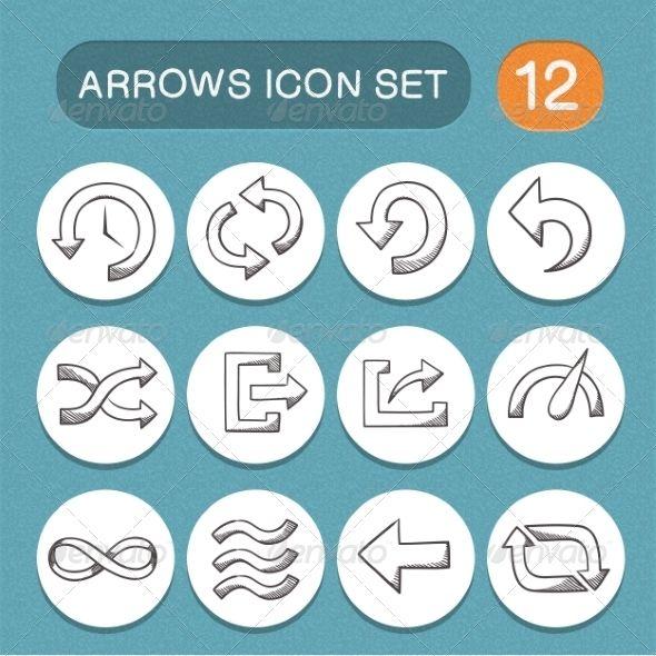Arrows Symbols Set Arrow Symbol Symbols And Arrow