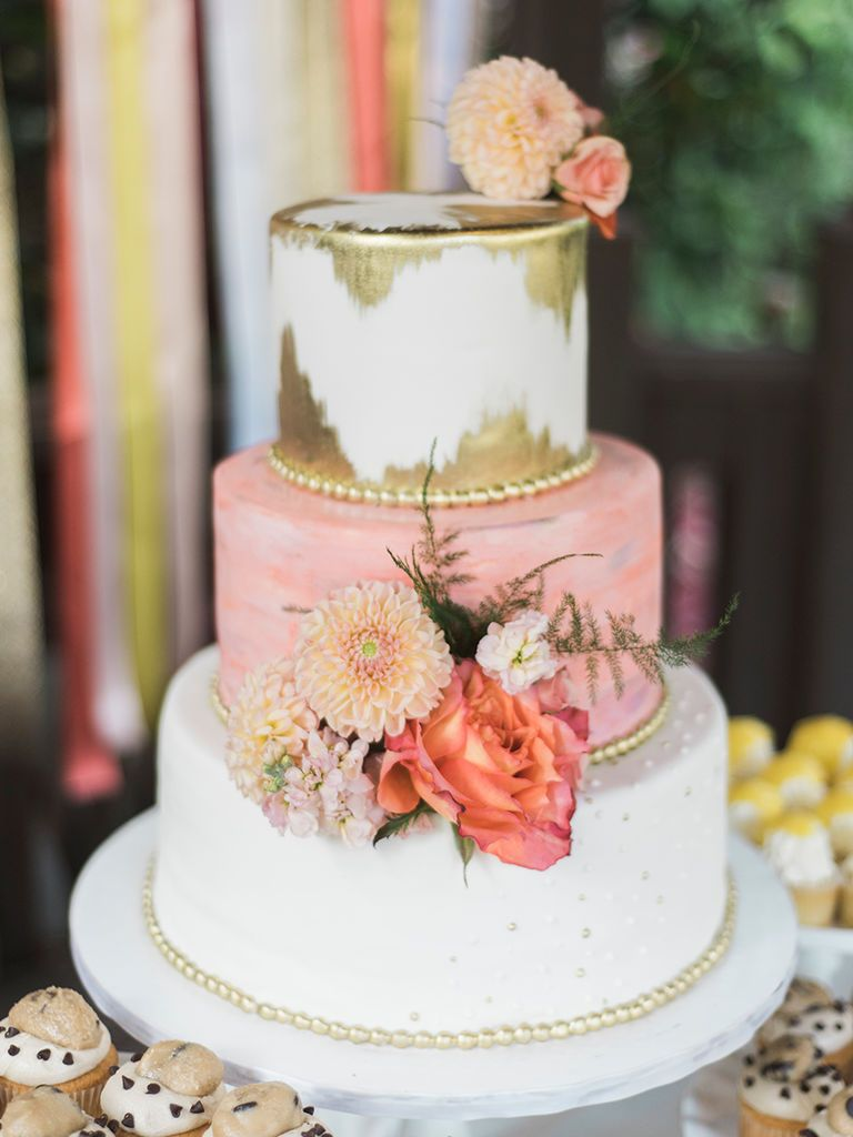 handpainted and watercolor wedding cakes just in time for spring