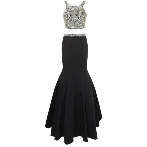 7be5dbbd36 Jovani Embellished Two Piece Gown ( 1