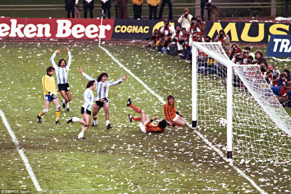 Image result for 1978 world cup, final