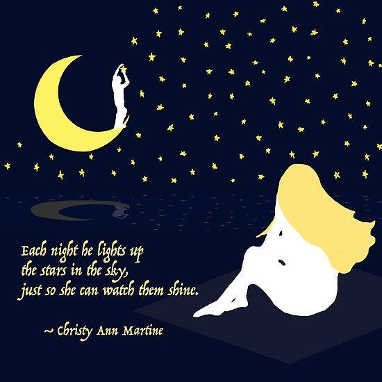 Romantic Stars Quote Romance Love Quotes Poems Says Poetry