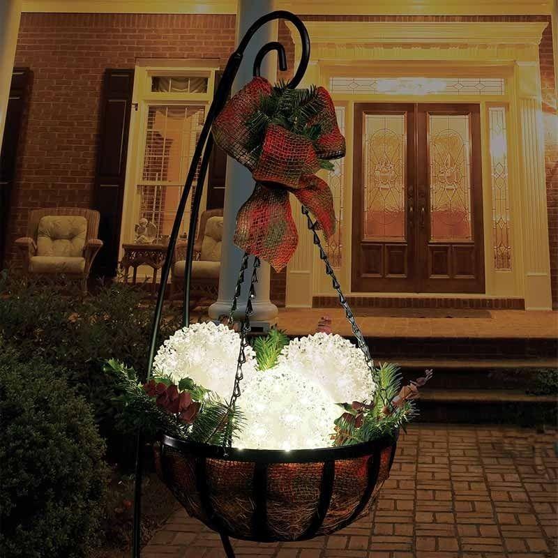 Christmas Decorations Indoor Outdoor Lights Spheres Tabletop Tree