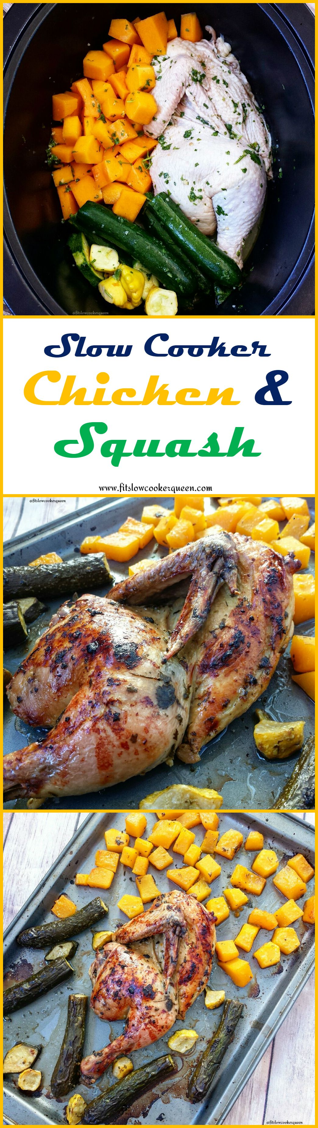 Photo of Slow Cooker Chicken & Squash