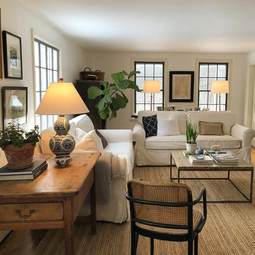 45 cozy farmhouse living room for your familys warmth