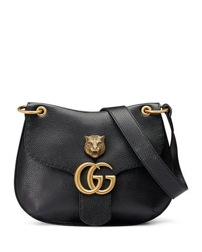 8f036b589d1 GUCCI Gg Marmont Leather Tiger Bag