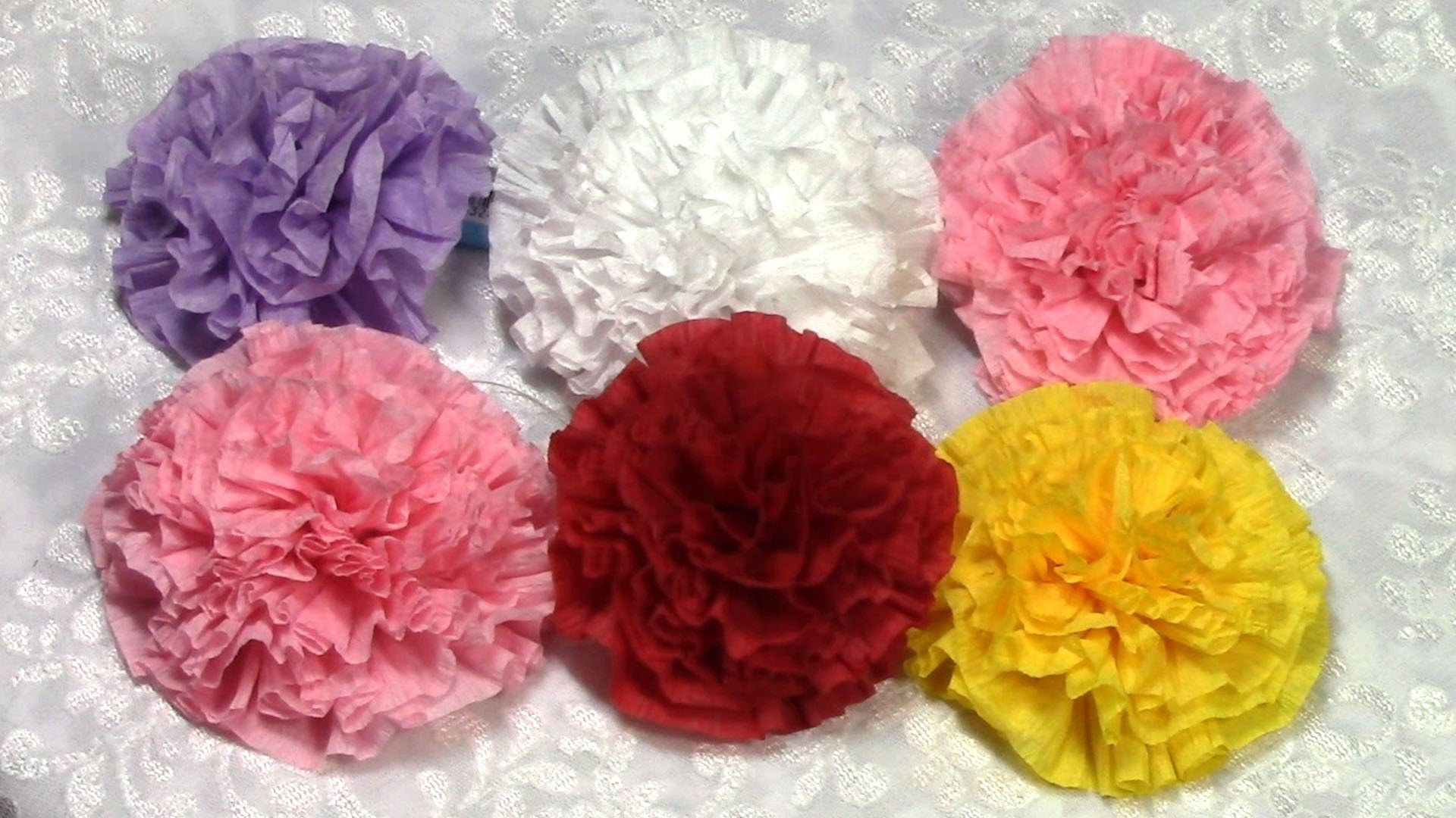 Diy Easy Paper Flowers Tutorial Diy How To Do Decoration