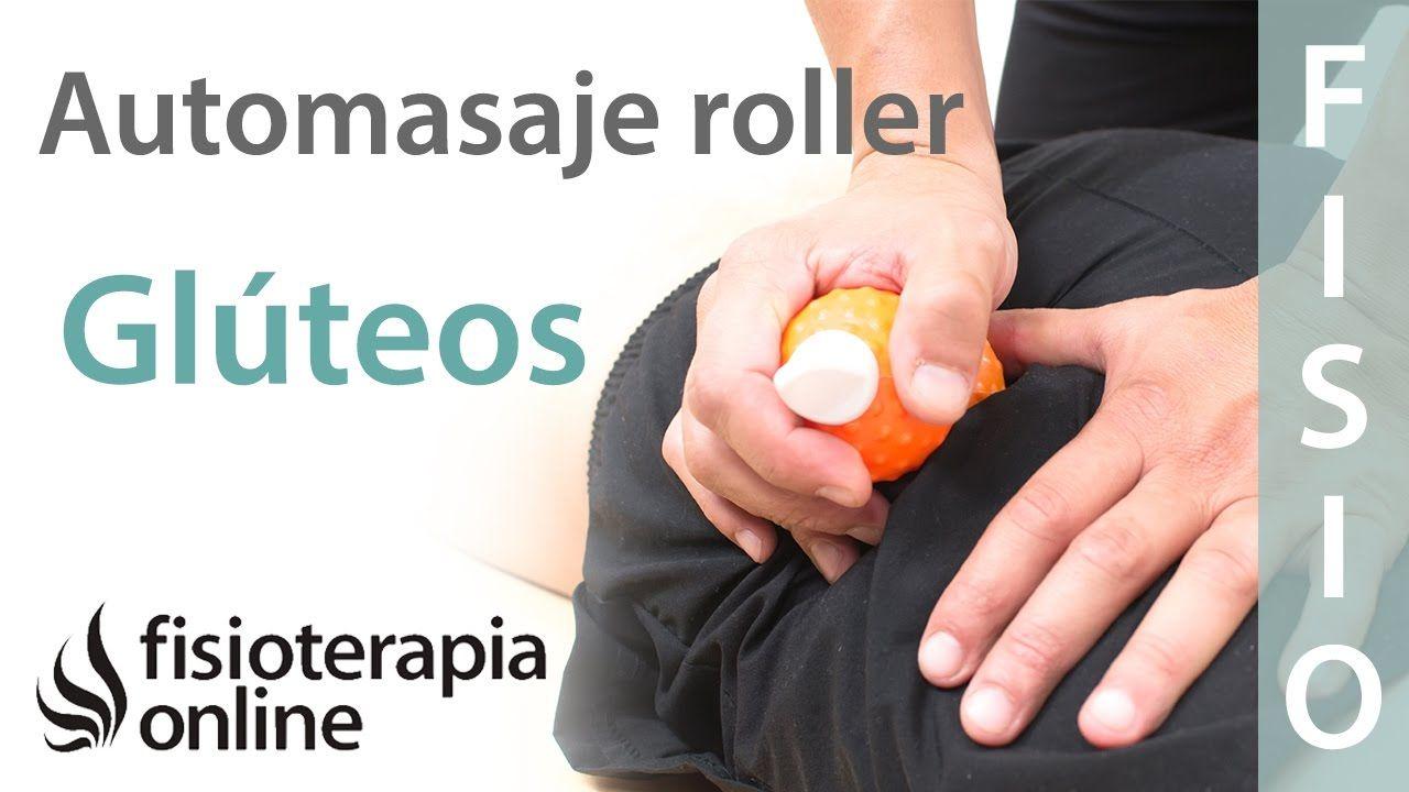 Automasaje en glúteos con Cool Roller | anatomia | Pinterest ...