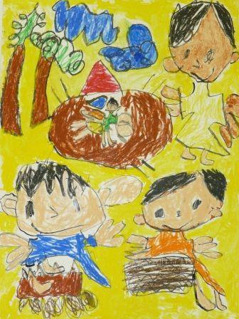 平成26年度 家庭の日 絵画 ポスター 標語入賞作品決定 絵画