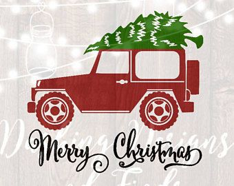 Christmas Jeep Silhouette.Image Result For Jeep Svg Files Cricut Jeep Jeep Images