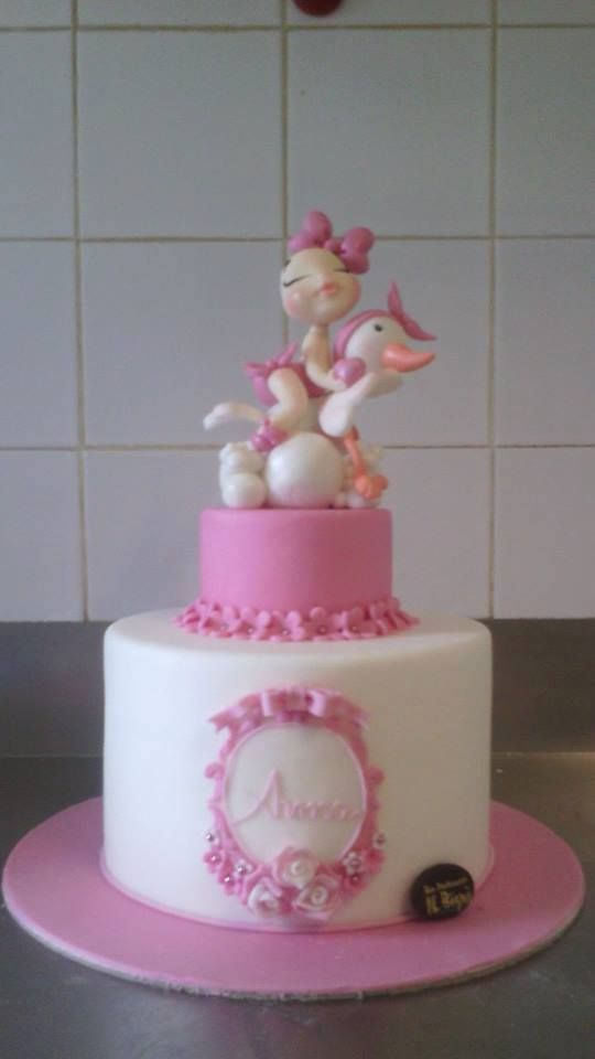 Tore Decorate Battesimo by Dolci Miei