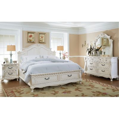 Nice White Queen Bedroom Set Concept