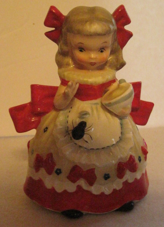 Little Miss Muffet Figurine By Napco Vintage Nursery