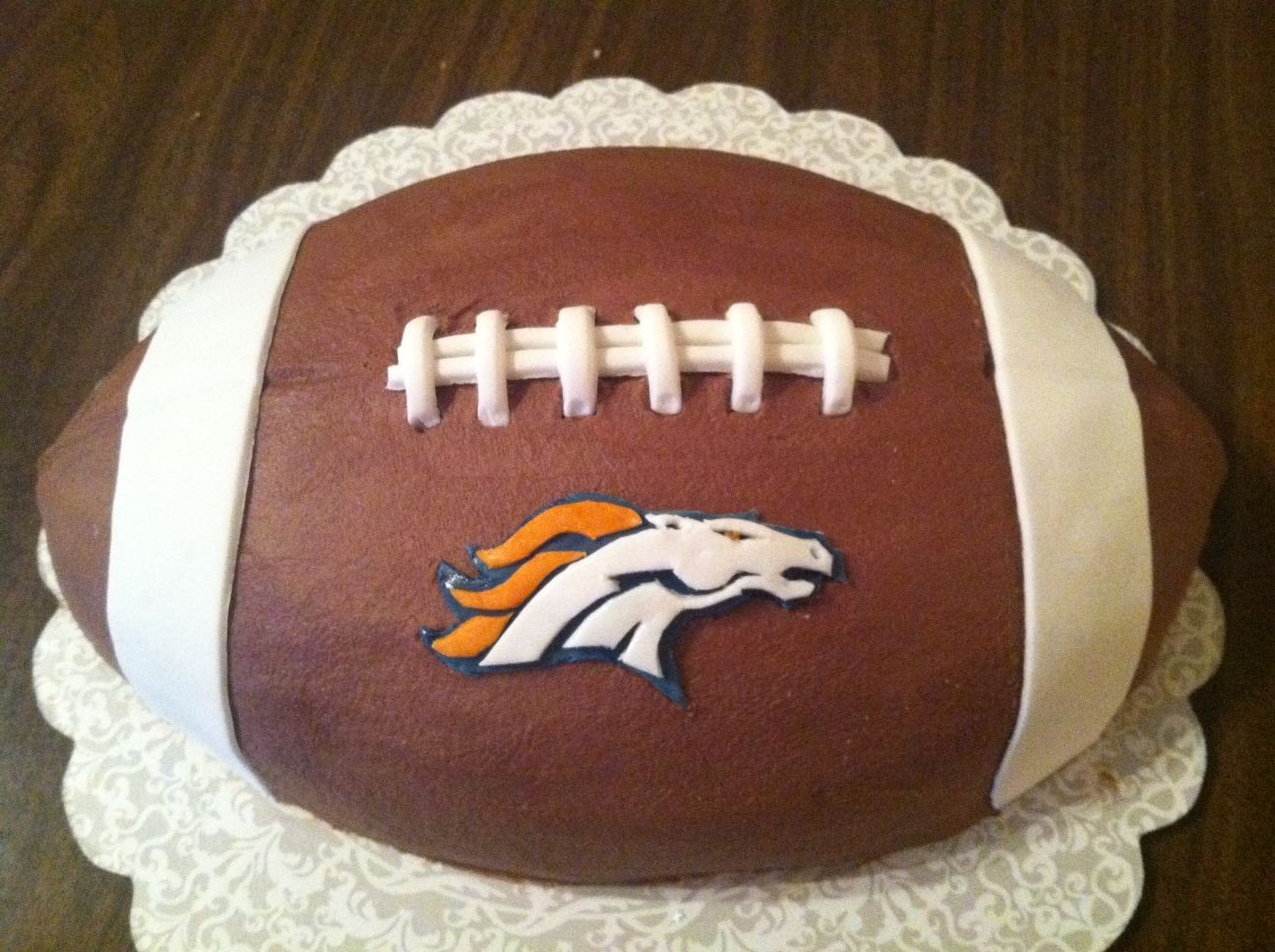 Denver Broncos Cake Ideas