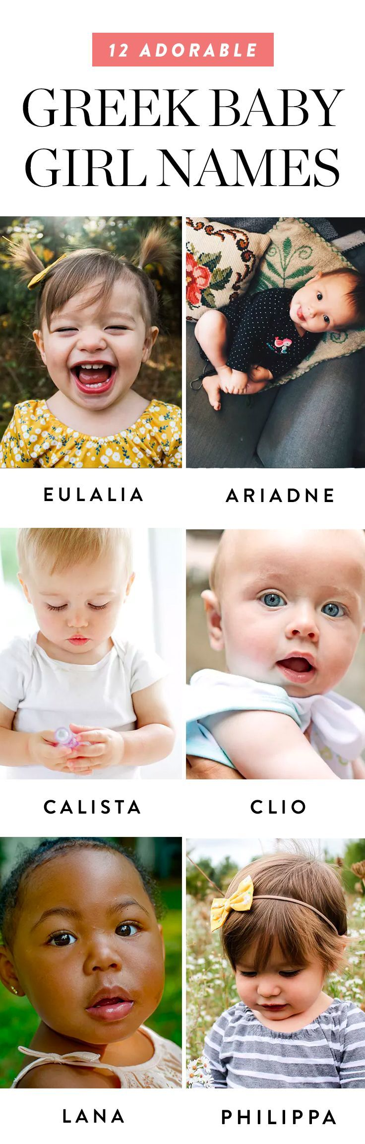 Italian Boy Name: 12 Adorable Greek Baby Girl Names That Will Make You Say