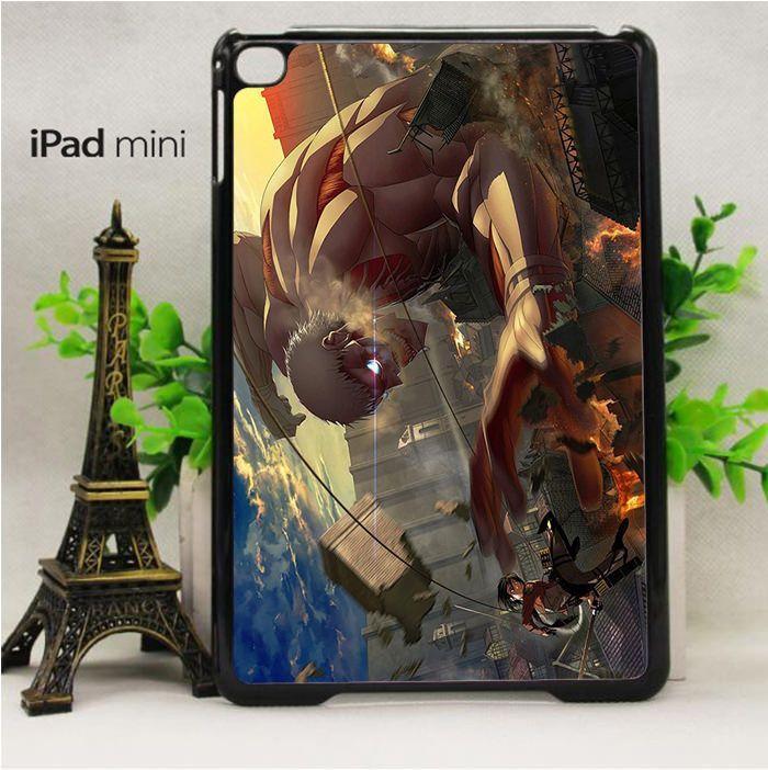 Mikasa fight TItans for custom case iPad Mini 2/ Mini 3/ Mini 4