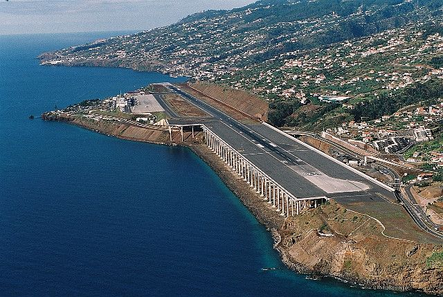 Madeira Airport by Madeira Islands Tourism ~ I have never seen another air  strip like it | Madeira ilha, Turismo, Arquipélago