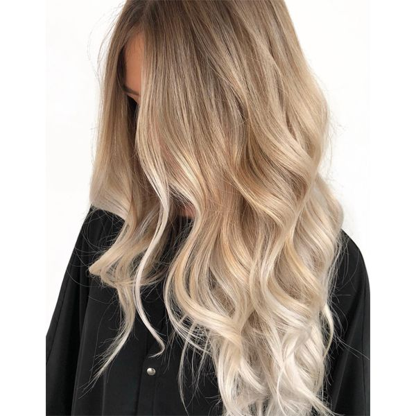 Buttery, Creamy and Dreamy Blend of Blonde Haircolor