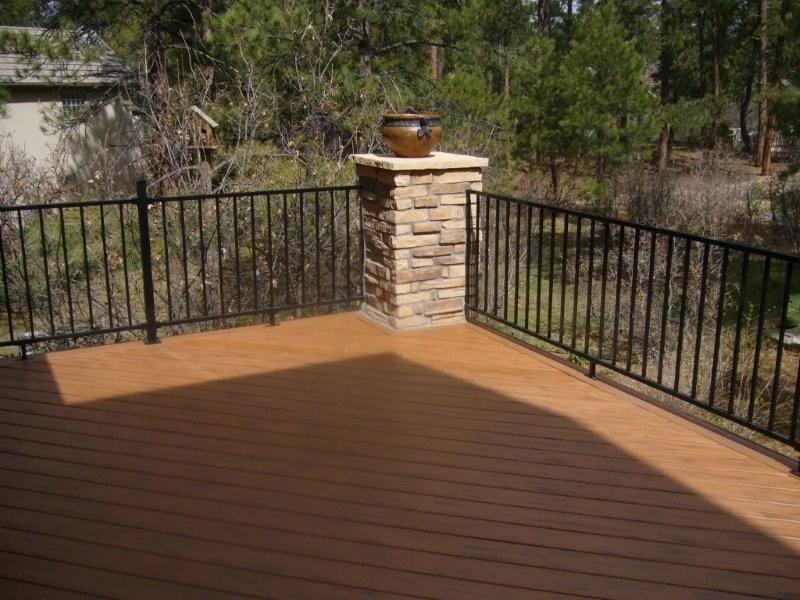 Deck Railing Designs | Nyc Townhouse | Patio | Pinterest | Nyc ... Beispiel Mehrstufige Holzterrasse