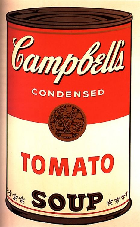 Pin By Sergio Martinez Castells On Arte Pintura Painting Art Andy Warhol Warhol Andy Warhol Soup Cans