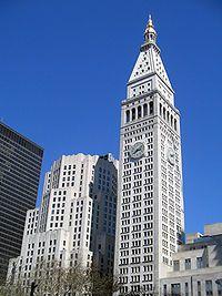 Metropolitan Life Tower New York Ny New York Buildings