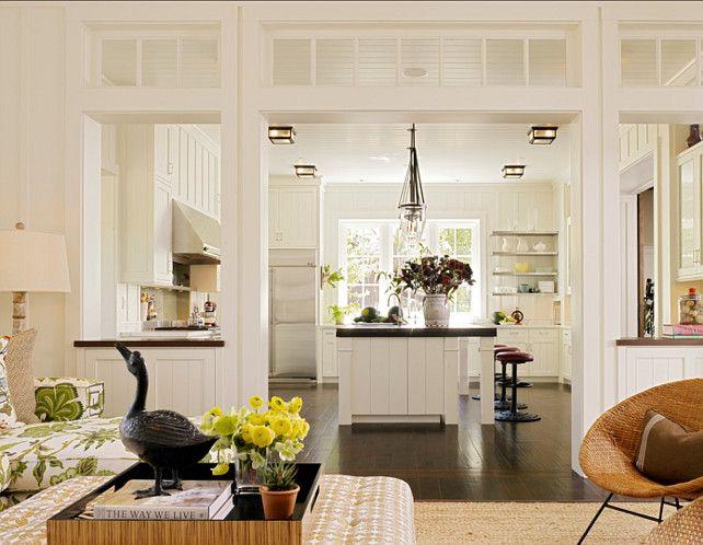 White Kitchen Open To Family Room white kitchen. interesting layout in this white kitchen. partial