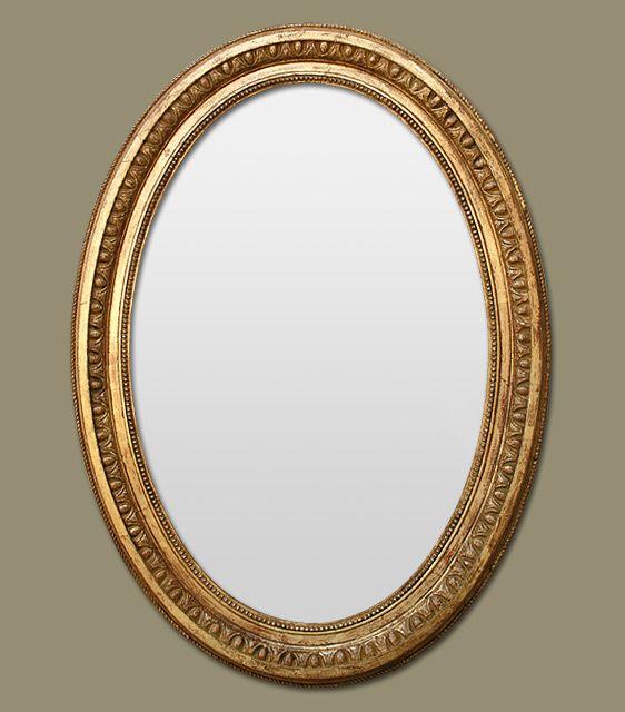 miroir ancien ovale poque napol on 3 miroir miroir pinterest miroirs anciens. Black Bedroom Furniture Sets. Home Design Ideas