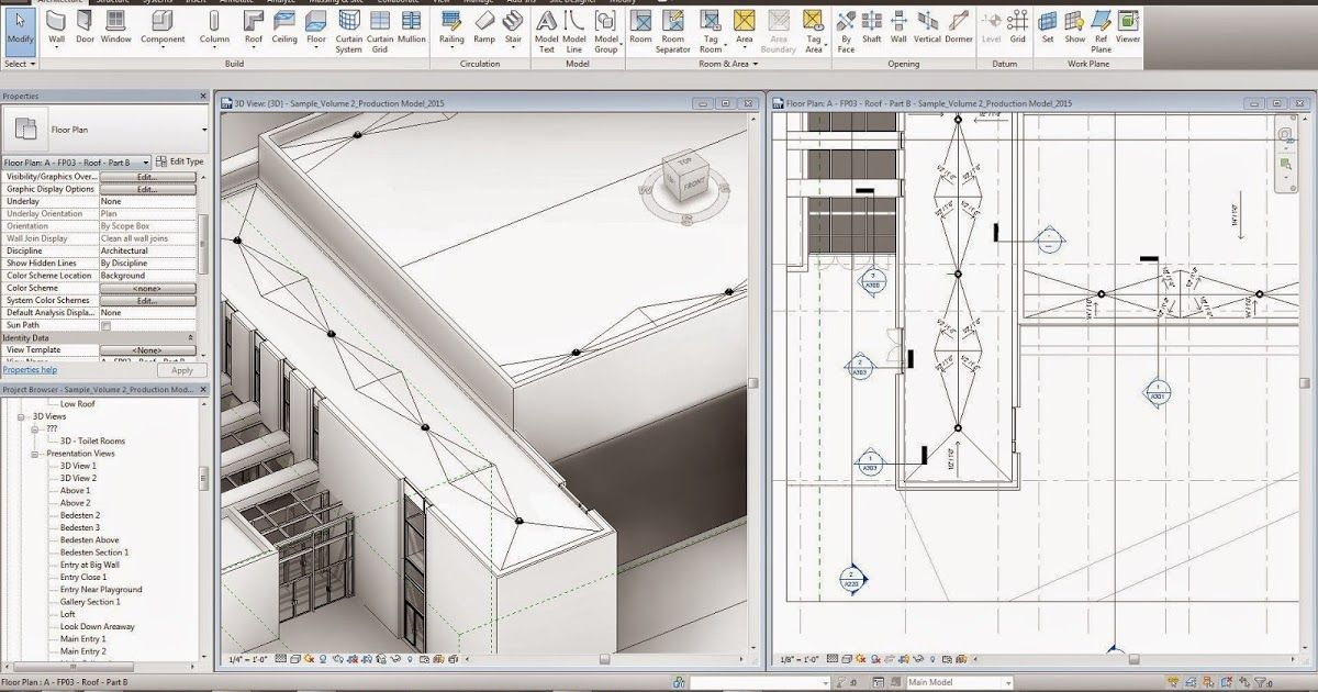 Flat Roofs In Revit Are A Mystery To Many People Similar To A Lot Of Elements In Revit There Are Many Ways To Go Revit Tutorial Flat Roof Revit Architecture