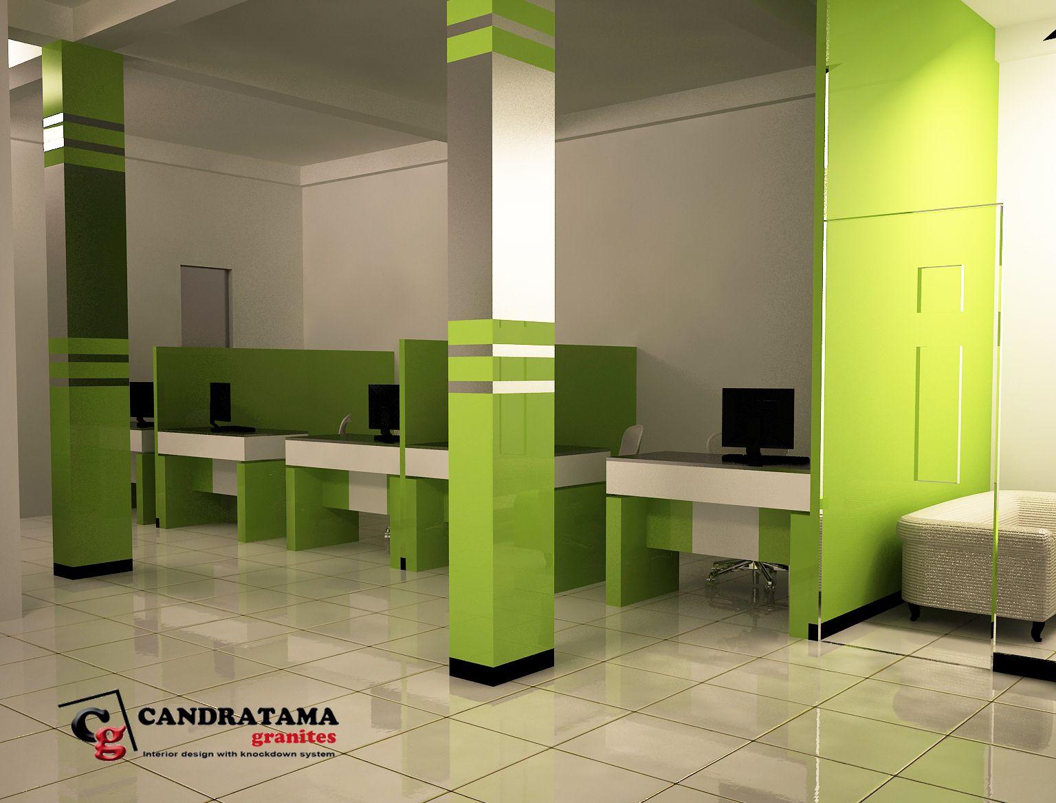 Desain Ruang Customer Service Perkantoran Part 1 Desain