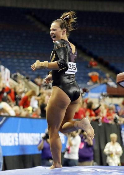LSU gymnastics is building slowly to what the Tigers hope is ...