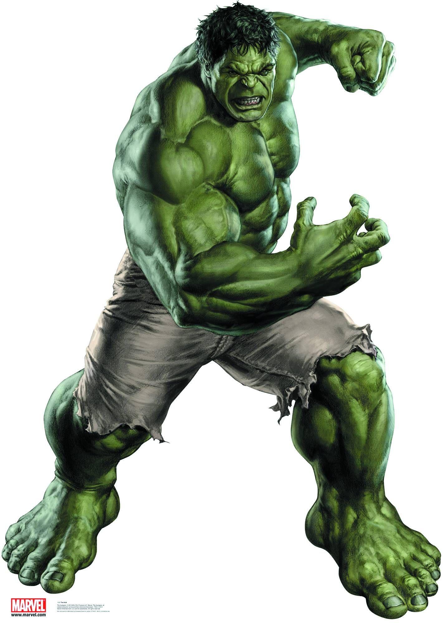 Avengers Cardboard Cutouts Desenho Hulk Incrivel Hulk Vingadores