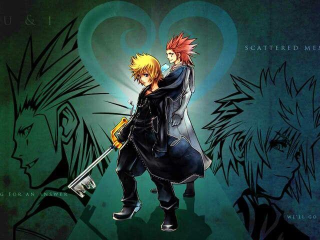 Roxas And Axel Wallpaper Kingdom Hearts Wallpaper Roxas Kingdom Hearts Kingdom Hearts