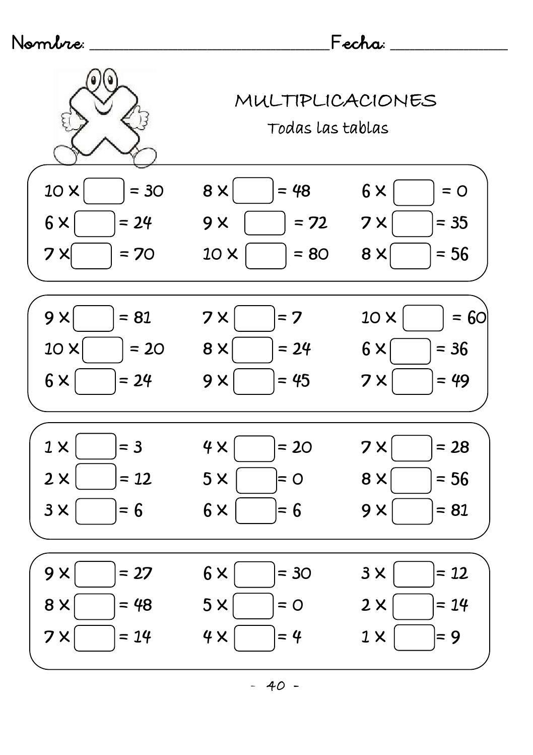Multiplicaciones Rapidas