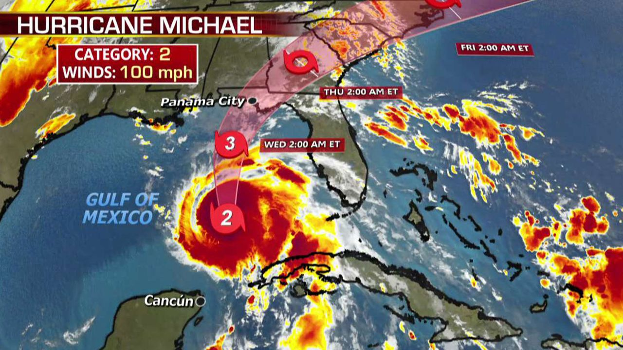 Hurricane Michael Targets North Florida As Monstrous Storm Gains Strength Hurricane Storm Michael
