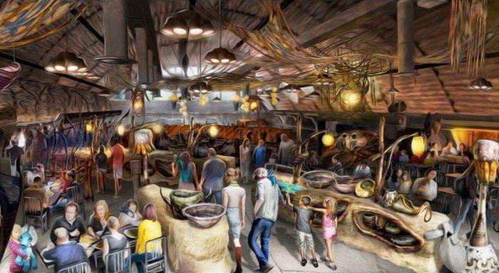 Satu'li Canteen Pandora- The World of Avatar Walt Disney World