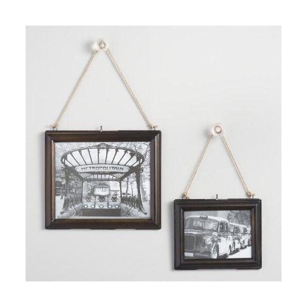 Cost Plus World Market Antiqued Metal Kariba Horizontal Wall Frame ...