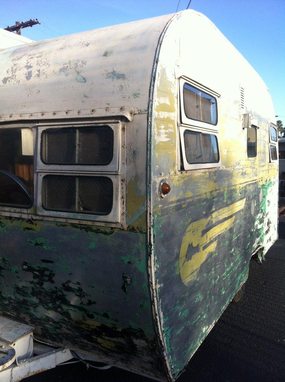 Aljoa! Vintage travel trailers, Vintage caravans